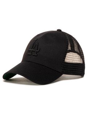 47 Brand 47 Brand Шапка с козирка Mlb Los Angeles Dodgers Branson B-BRANS12CTP-BKA Черен