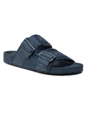 Pepe Jeans Pepe Jeans Šľapky Ultra Bio 2 Buckles 595 PMS90061 Tmavomodrá