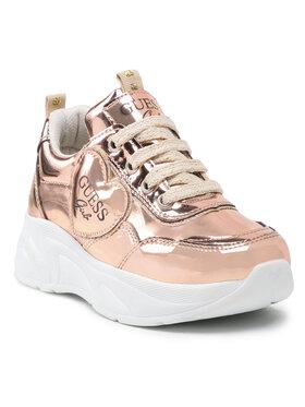 Guess Guess Sneakersy FICLA8 LEL12 Zlatá