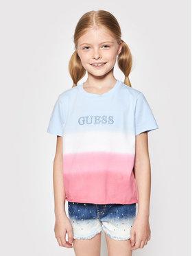 Guess Guess T-shirt J1GI27 K6YW1 Bleu Regular Fit