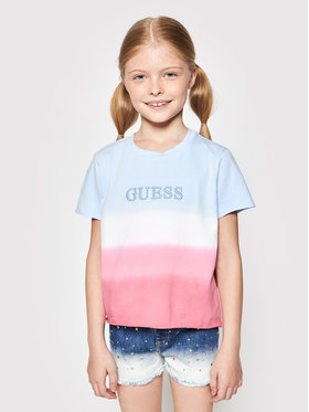 Guess Guess T-shirt J1GI27 K6YW1 Plava Regular Fit