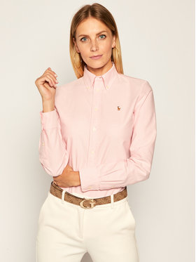 Polo Ralph Lauren Polo Ralph Lauren Chemise Washed Oxford 211743355 Rose Slim Fit