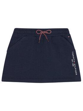 TOMMY HILFIGER TOMMY HILFIGER Φούστα Essential Knit KG0KG05325 M Σκούρο μπλε Regular Fit