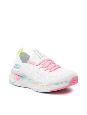 Skechers Skechers Обувки Solar Fuse 302040L/WMLT Бял