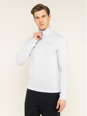 Under Armour Under Armour Μπλούζα τεχνική Ua Streaker ½ Zip 1326585 Γκρι Fitted Fit