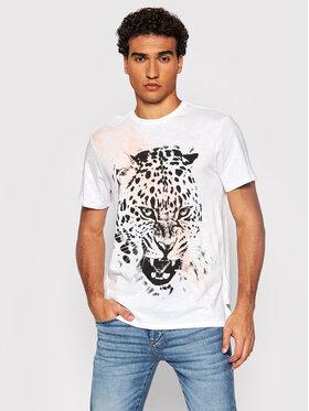 Guess Guess T-Shirt MBBI41 K6XN1 Bílá Regular Fit