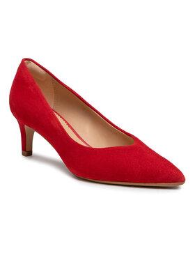 Clarks Clarks Обувки на ток Laina55 Court2 261565994 Червен