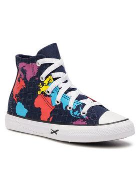 Converse Converse Sneakers Ctas Hi Obsidian/S 668455C Bleu marine
