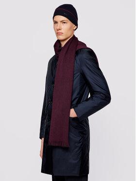 Boss Boss Комплект шал и шапка Diamante_SET 50443949 Тъмносин