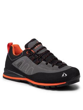 Bergson Bergson Трекінгові черевики Kibo Low Stx Сірий