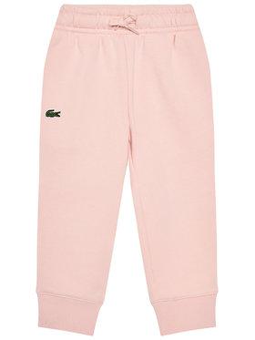 Lacoste Lacoste Melegítő alsó XJ9476 Rózsaszín Regular Fit