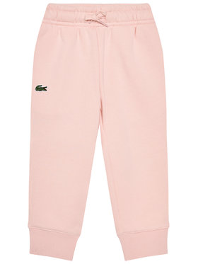 Lacoste Lacoste Pantalon jogging XJ9476 Rose Regular Fit