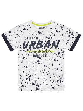 Primigi Primigi T-Shirt Urban Summer 45223051 Biały Regular Fit