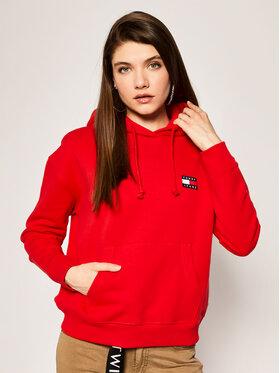 Tommy Jeans Tommy Jeans Sweatshirt Badge DW0DW07787 Rouge Regular Fit