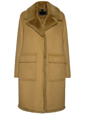 Blauer Blauer Zimní kabát Janice 20WBLDK01571 005831 Hnědá Regular Fit