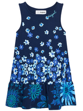 Desigual Desigual Každodenné šaty lISA 21SGVK04 Tmavomodrá Regular Fit