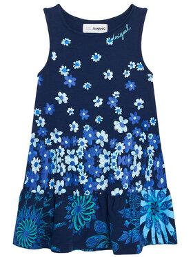 Desigual Desigual Sukienka codzienna lISA 21SGVK04 Granatowy Regular Fit