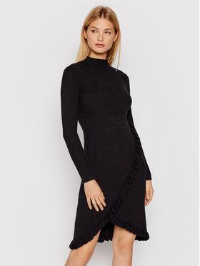 Silvian Heach Silvian Heach Трикотажне плаття Westfield PGA21314VE Чорний Slim Fit