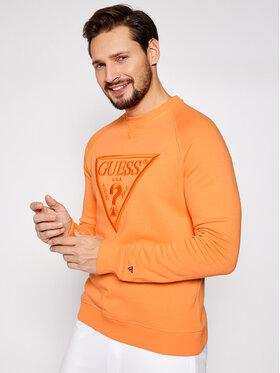 Guess Guess Bluza U1GA09 K68I1 Pomarańczowy Regular Fit