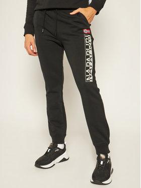 Napapijri Napapijri Teplákové kalhoty M-Ice NP0A4EHW Černá Regular Fit