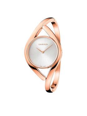 Calvin Klein Calvin Klein Часовник Bangle Medium K8U2M616 Розов