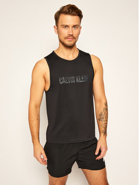 Calvin Klein Performance Calvin Klein Performance Tank top 00GMF0K176 Černá Regular Fit