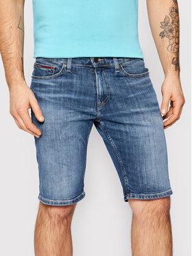Tommy Jeans Tommy Jeans Džínsové šortky Scanton DM0DM10558 Tmavomodrá Slim Fit