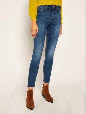 Guess Guess Jeansy Skinny Fit 1981 W0YA46 D4484 Granatowy Skinny Fit