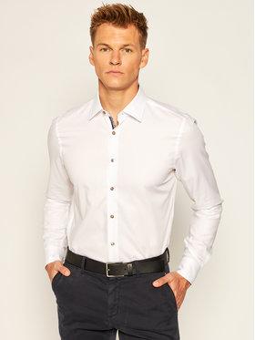 Joop! Joop! Košile 17 Jsh-105Pierre1K 30022872 Bílá Slim Fit