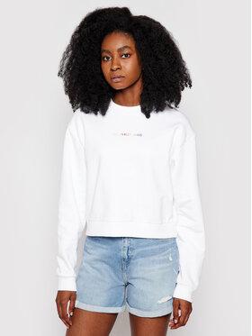 Calvin Klein Jeans Calvin Klein Jeans Bluză J20J217205 Alb Relaxed Fit