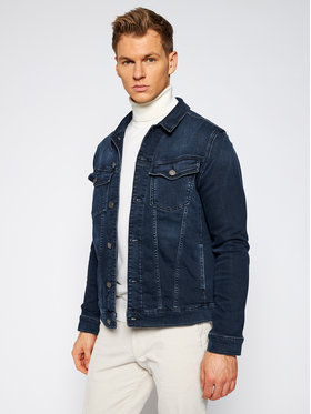 KARL LAGERFELD KARL LAGERFELD Farmer kabát Denim 505800 502835 Sötétkék Regular Fit