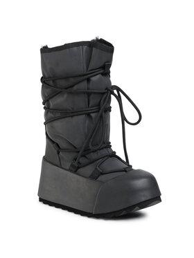 United Nude United Nude Μπότες Χιονιού Polar Calf Boot 105940112562 Μαύρο