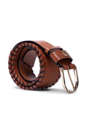 Tommy Hilfiger Tommy Hilfiger Дамски колан Classic High Waist Belt 5.5 AW0AW10071 Кафяв