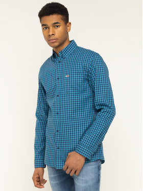 Tommy Jeans Tommy Jeans Hemd Tjm Twill Gingham DM0DM07503 Blau Regular Fit