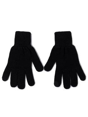 Tommy Jeans Tommy Jeans Herrenhandschuhe Tjm Basic Flag Rib Gloves AM0AM05217 Schwarz