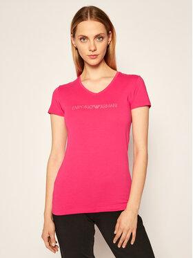 Emporio Armani Underwear Emporio Armani Underwear T-Shirt 163321 0A263 20973 Różowy Regular Fit