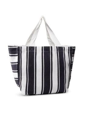 Seafolly Seafolly Дамска чанта Canvas Stripe Tote 71591-BG Тъмносин