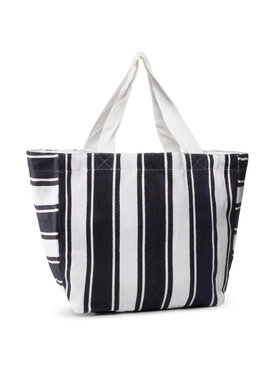 Seafolly Seafolly Handtasche Canvas Stripe Tote 71591-BG Dunkelblau