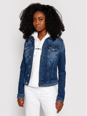 Tommy Jeans Tommy Jeans Giacca di jeans Vivianne DW0DW09219 Blu Slim Fit