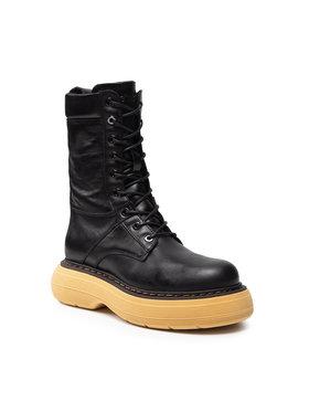 Carinii Carinii Členková obuv B7256 Čierna