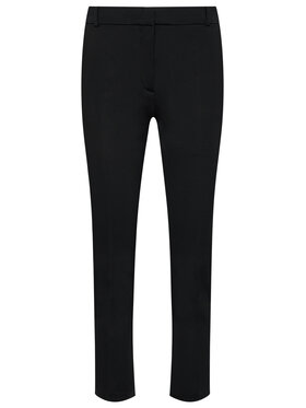 Pinko Pinko Pantaloni din material Bello PE 21 BLK01 1G15LF 5872 Negru Regular Fit