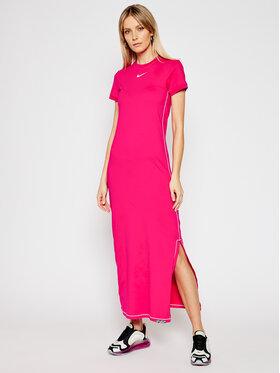 Nike Nike Sukienka codzienna Icon Clash DC5290 Różowy Tight Fit