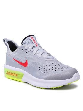 Nike Nike Buty Air Max Sequent 4 (Gs) AQ2244 007 Szary