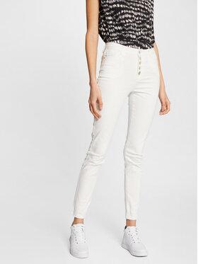 Morgan Morgan Jeansy 211-PWHITE Biały Slim Fit