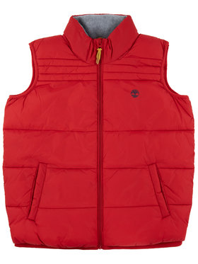 Timberland Timberland Gilet T26495 Rosso Regular Fit