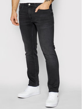 Tommy Jeans Tommy Jeans Jeansy Scanton DM0DM09810 Czarny Slim Fit