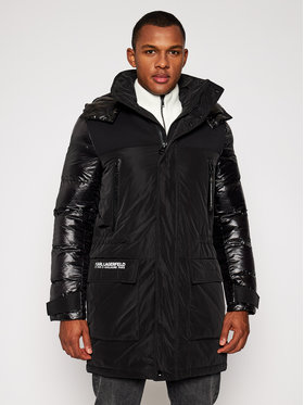 KARL LAGERFELD KARL LAGERFELD Parka Hooded 505013 502501 Čierna Regular Fit