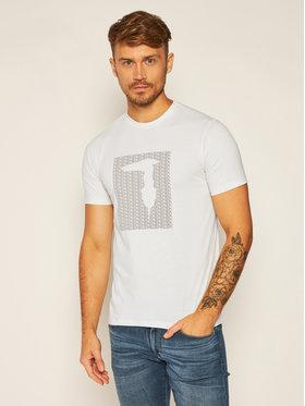 Trussardi Jeans Trussardi Jeans Tricou Pure 52T00311 Alb Regular Fit