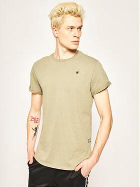 G-Star RAW G-Star RAW Marškinėliai Sustainable D16396-B353-2199 Žalia Relaxed Fit