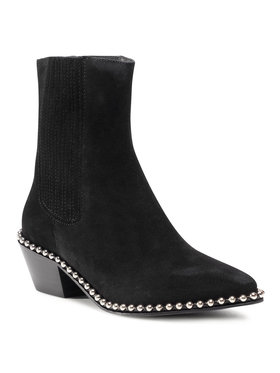 Zadig&Voltaire Zadig&Voltaire Členková obuv s elastickým prvkom Tyler WJAK1704F Čierna